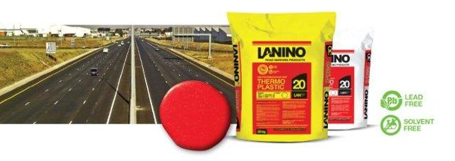 Thermo-plastic road paint